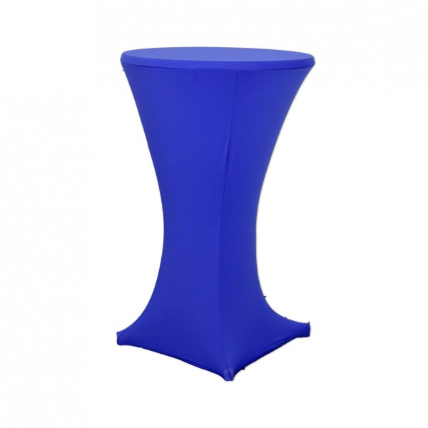 Stehtischhusse Stretch royalblau