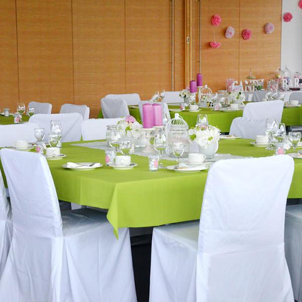 Tischdecke apfelgrün 150x260 cm