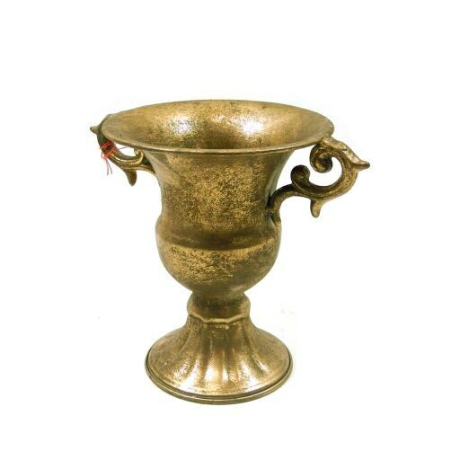 Pokalvase gold antik
