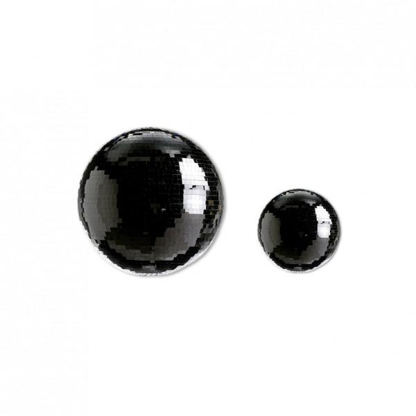 Spiegelkugel Schwarz