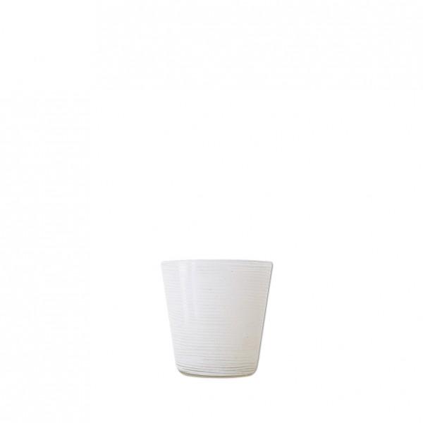 Vase konisch Rillenoptik