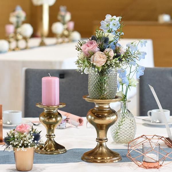 Kerzenständer 1-arm kupfer [mieten]