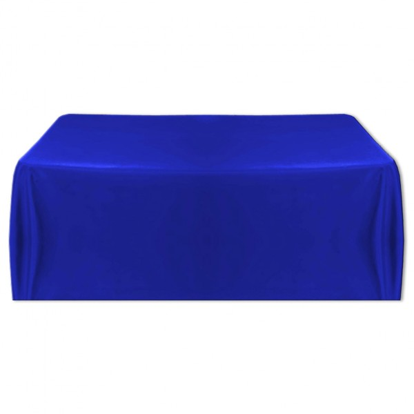 Tischdecke royalblau 150x260 cm