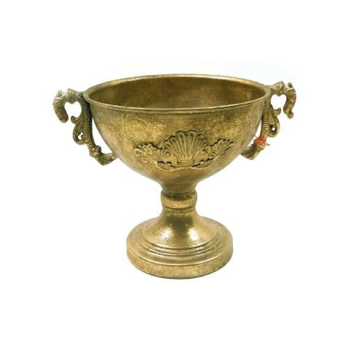 Pokalschale gold antik
