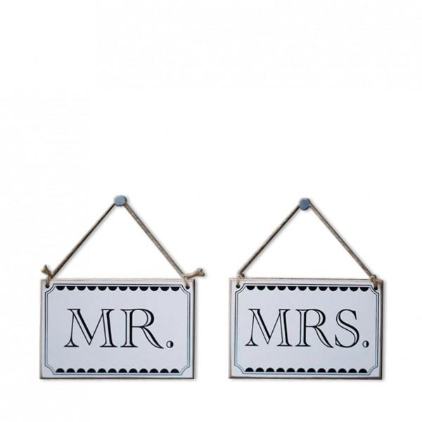 """""""Mr. & Mrs."""" Zum Hängen"""