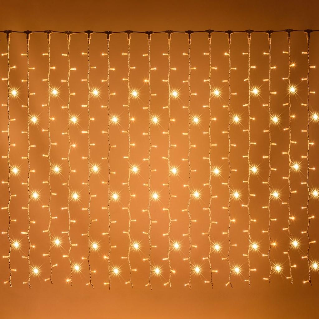 Lichtervorhang 2m x 2m