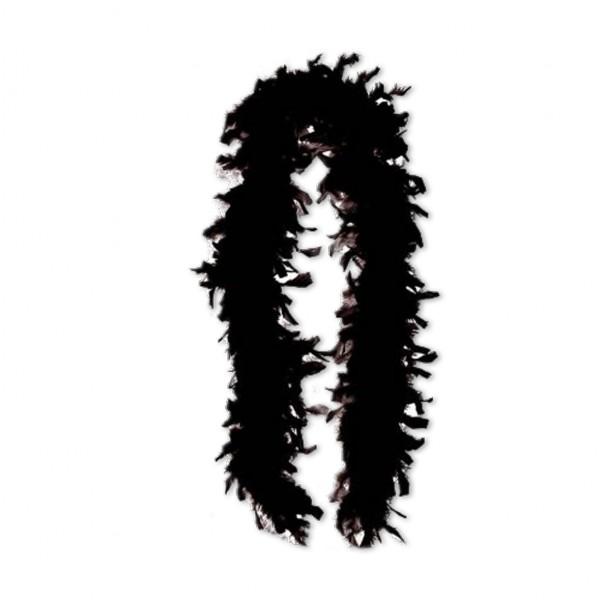 Federboa schwarz