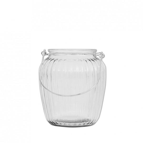Vase Vintage Rille bauchig