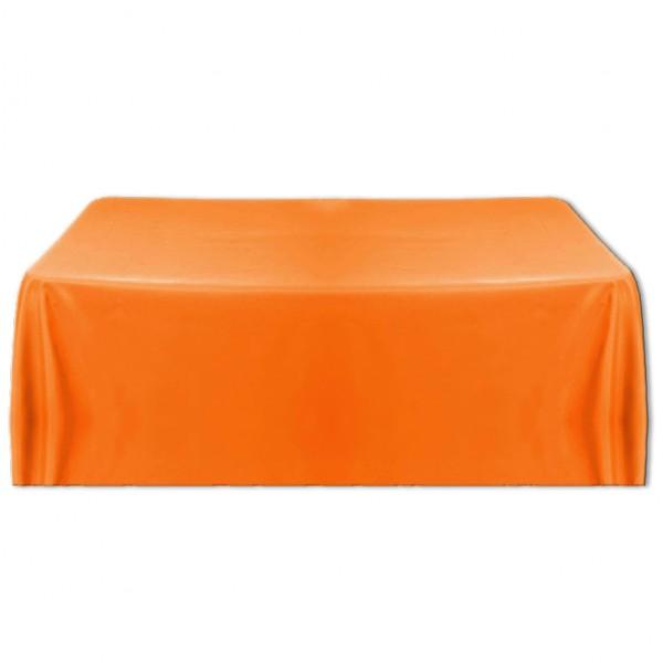 Tischdecke orange 150x260 cm