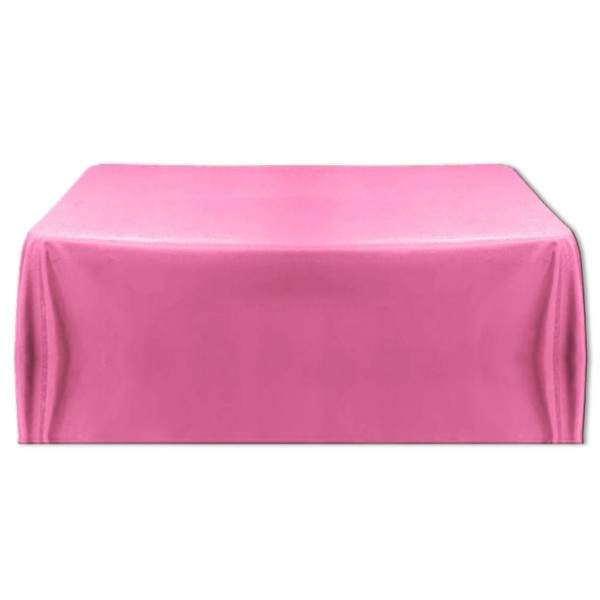 Tischdecke rosa 130x220 cm