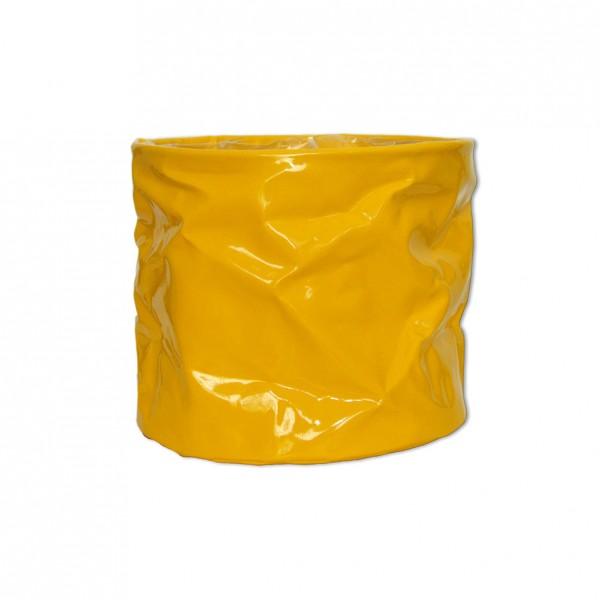 Lacktopf Gelb