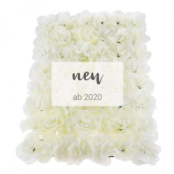 "Blumenwand ""white elegance"""