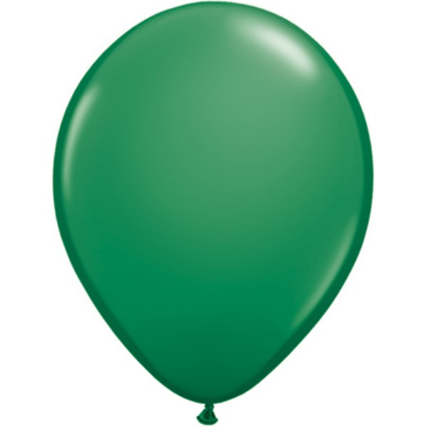 Helium-Luftballon 30cm grün