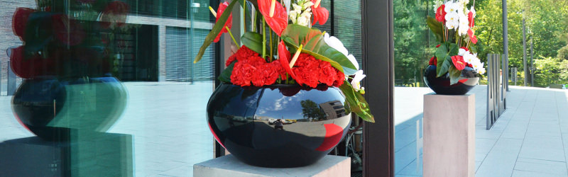 gro e vasen schalen und gef e mieten f r hochzeit und. Black Bedroom Furniture Sets. Home Design Ideas
