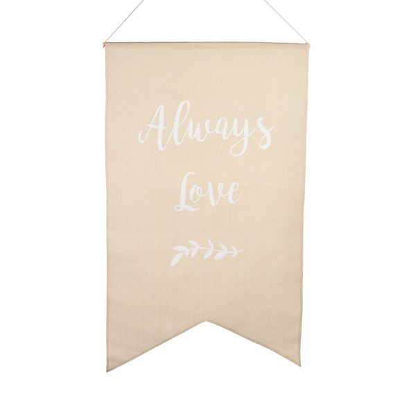 "Banner "" Always Love"""