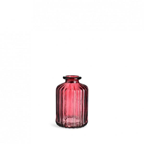 Flaschenvase Rille