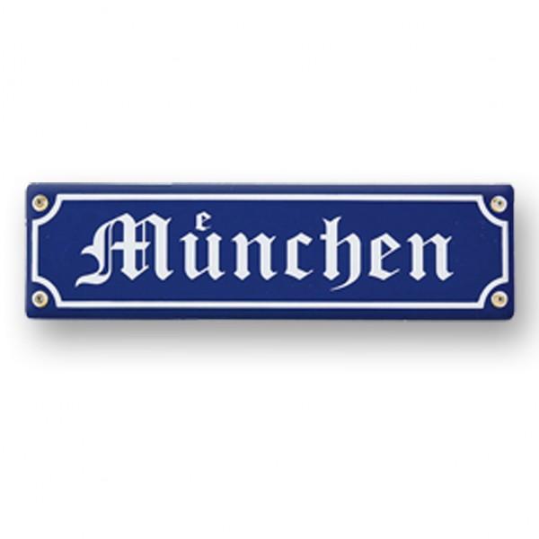 Holzschild München
