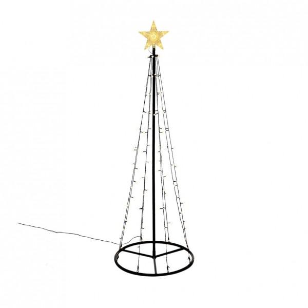 Lichterbaum mit Stern