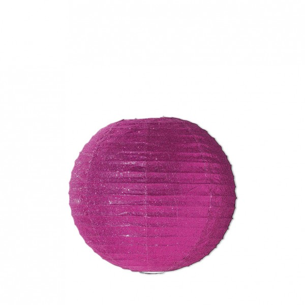 Lampion Glitzer pink