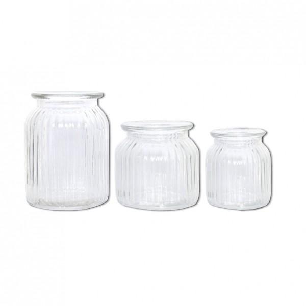 Vase Vintage Rille