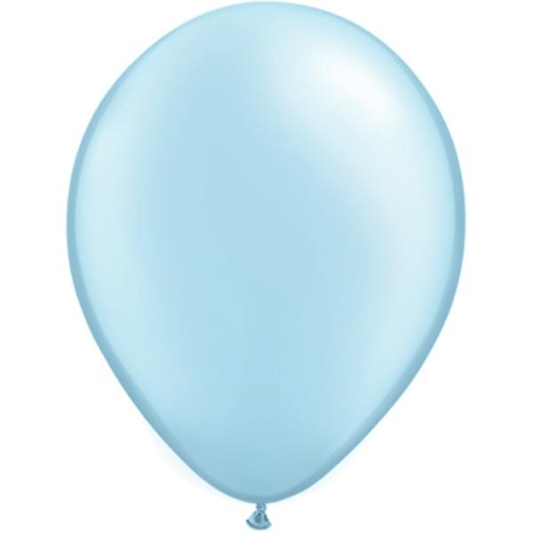 Helium-Luftballon 30cm hellblau