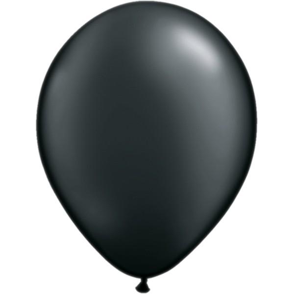 Helium-Luftballon 30cm schwarz