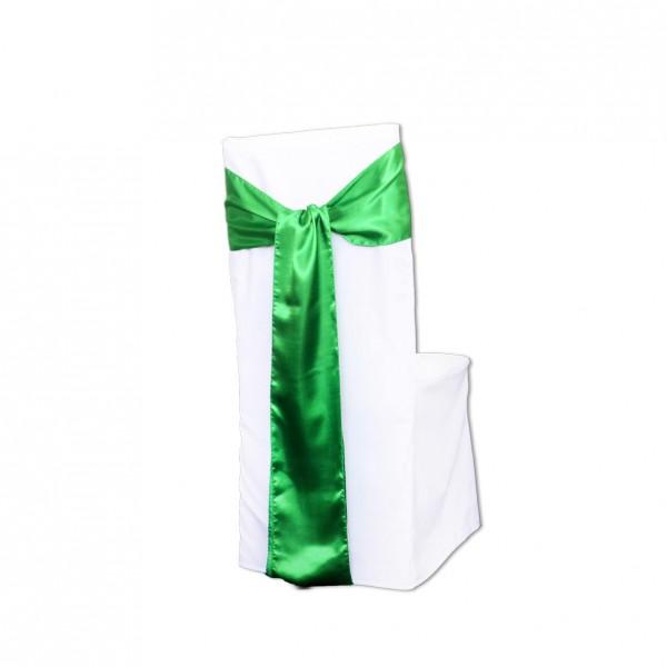 Schleifenband Taft / Satin Grün Muster