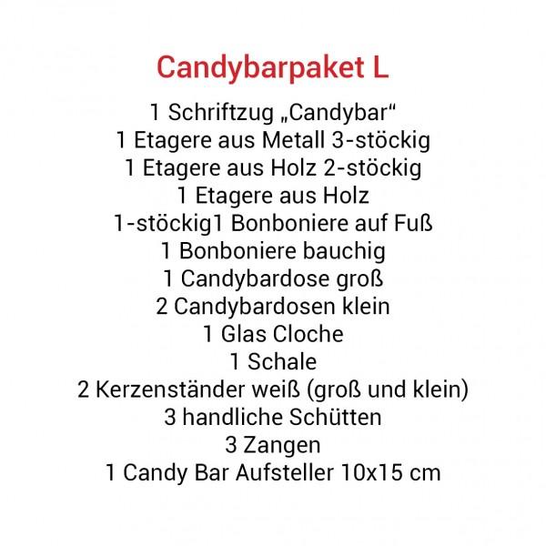 Candybarpaket L