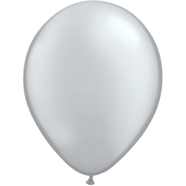 Helium-Luftballon 30cm silber