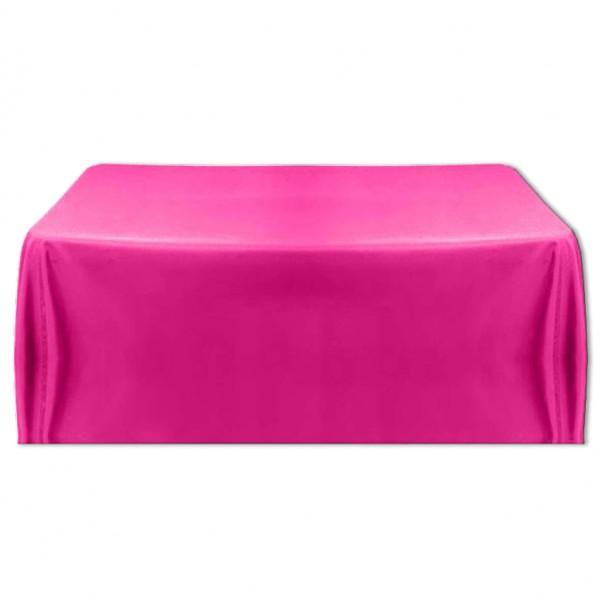 Tischdecke pink 150x260 cm