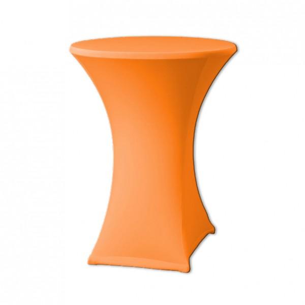Stehtischhusse Stretch orange
