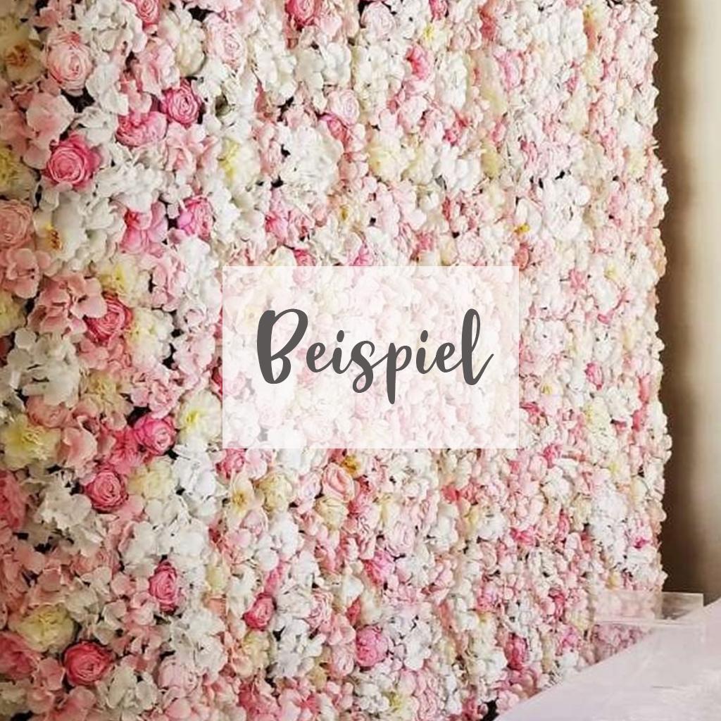 Blumenwand
