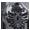 Ornamente silber-schwarz