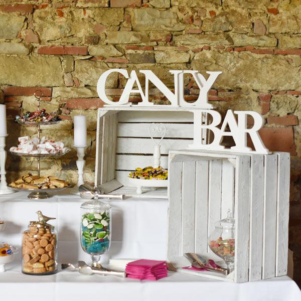 Schriftzug Candybar