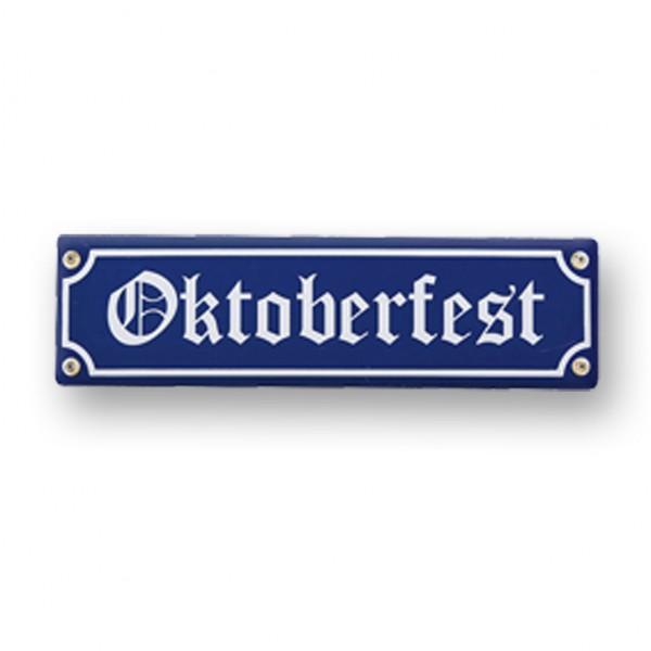 Holzschild Oktoberfest