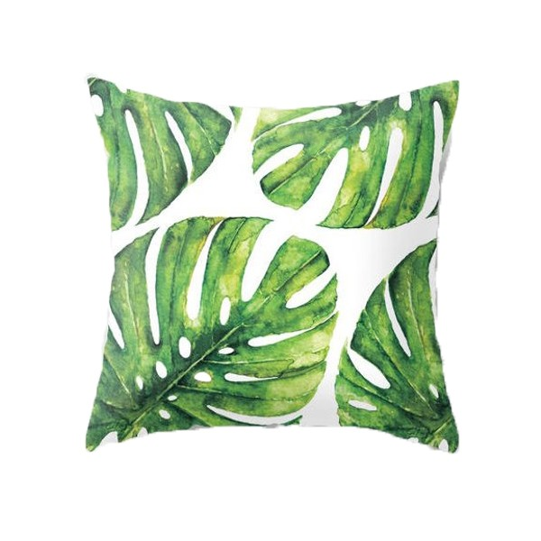 Kissen Philodendron Greenery