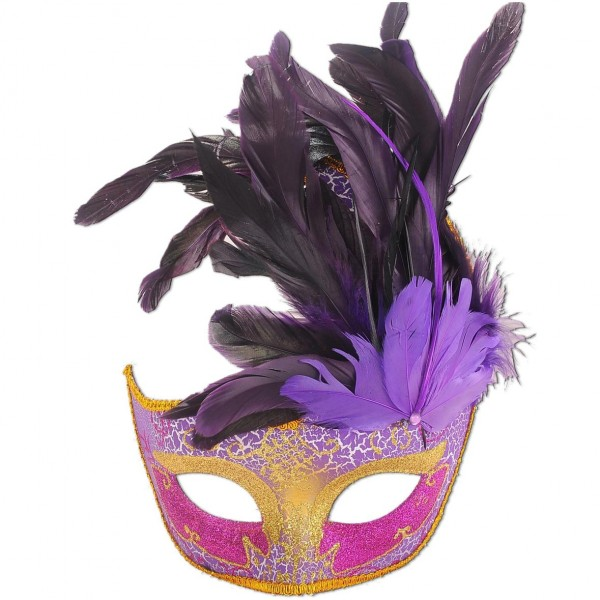 Venezianische Maske Pink