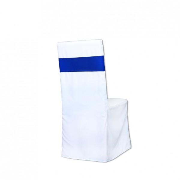 Stretchband Royalblau Muster