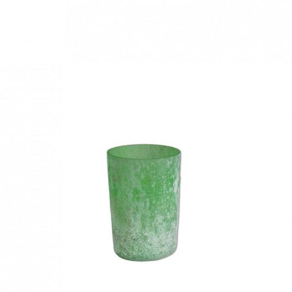 Vase marmoriert mint