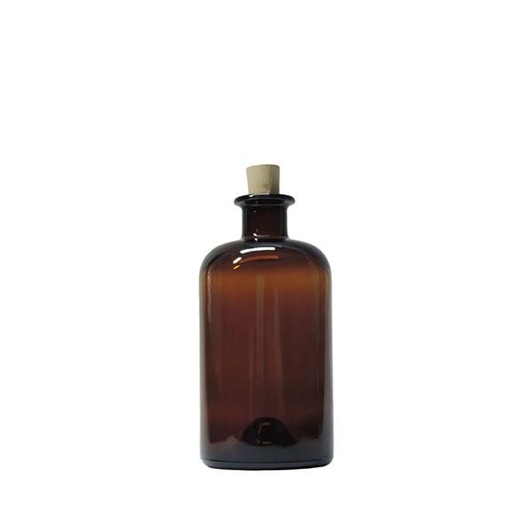 Flaschenvase Apotheker braun