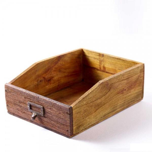 Schublade Holz braun