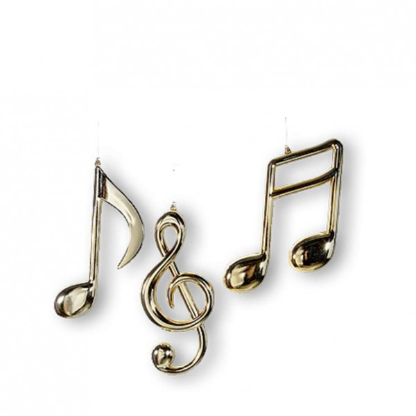 Musiknoten zum Hängen