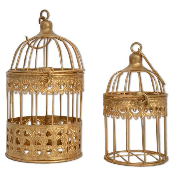 Vogelkäfig gold