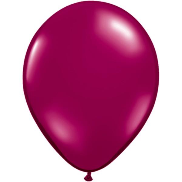 Helium-Luftballon 30cm beere