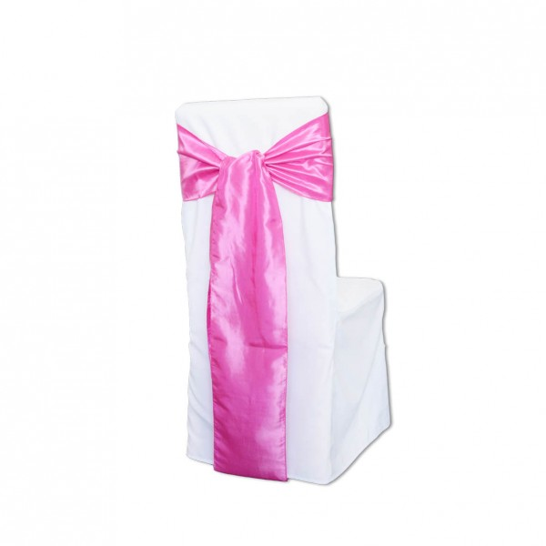 Schleifenband Taft / Satin Pink Muster
