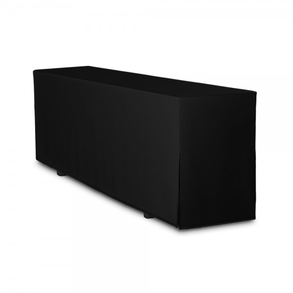 Biertischhusse schwarz 50x220 cm