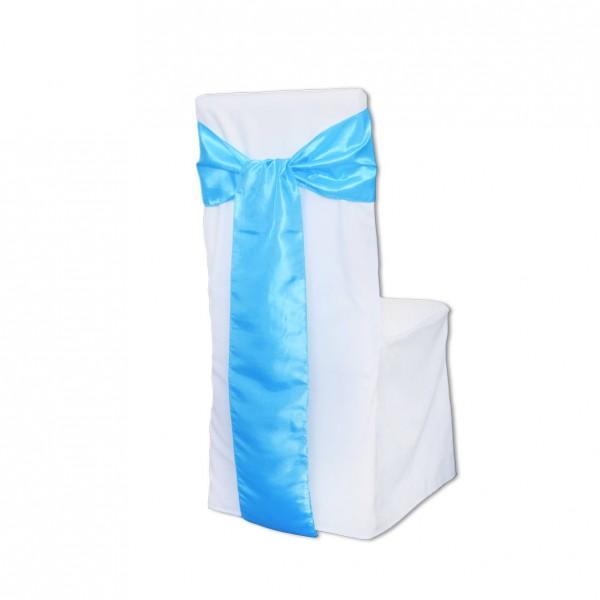 Schleifenband Taft aqua