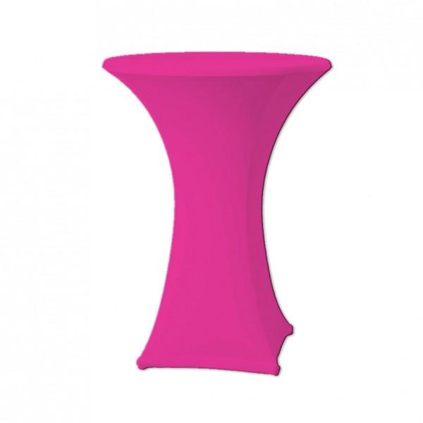 Stehtischhusse Stretch pink