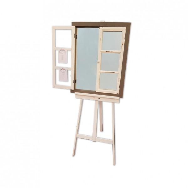 Sitzplan Fenster mit Spiegel