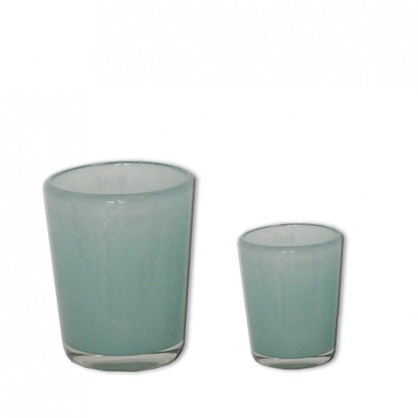 Vase Lichtblau